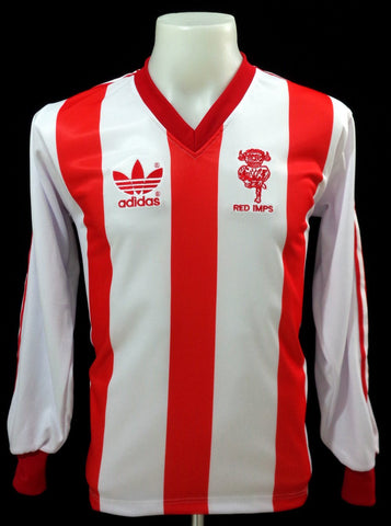 Lincoln City 1980-81 Home Long Sleeved Shirt