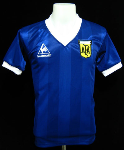 Argentina 1986 World Cup Away Shirt d6e919c07