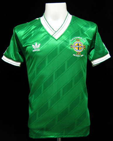 Northern Ireland 1986 World Cup Home Shirt