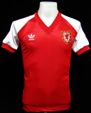 Wales 1980-83 Home Shirt