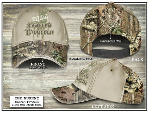 Sacred Protein Camo Hat