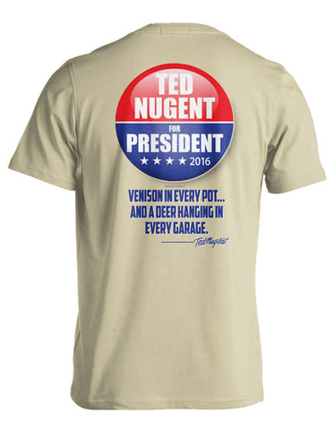 Ted For President Button