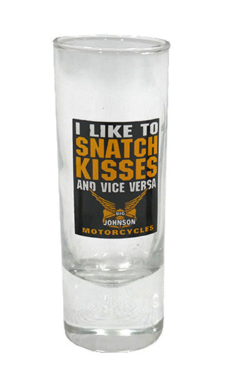 Snatch Kisses Shot Glass