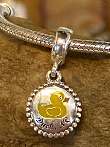 Yellow Duck PANDORA Charm