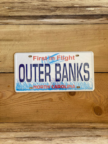 Outer Banks License Plate