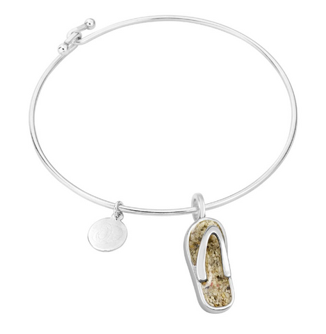 Dune Jewelry Flip Flop Beach Bangle
