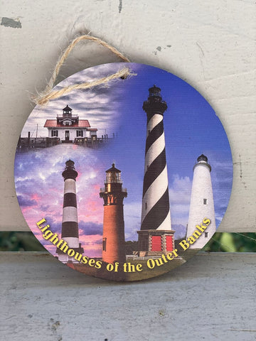 Lighthouses of the OBX Ornament