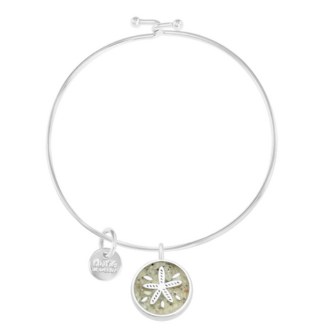 Dune Jewelry Sand Dollar Beach Bangle
