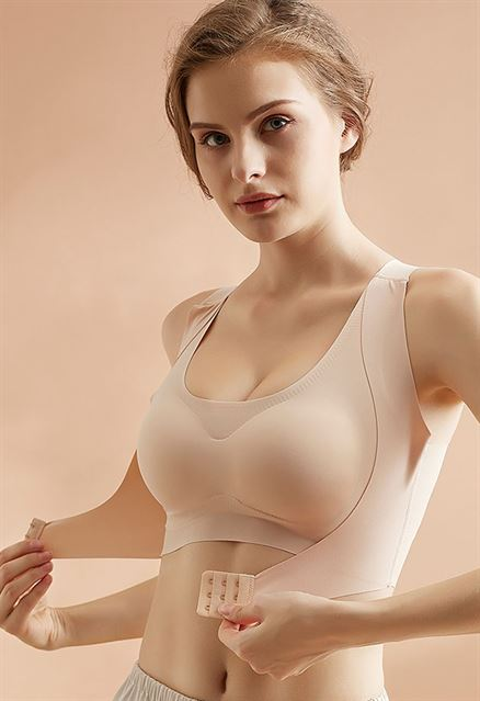 KYGO™ Seamless Front Buckle Support Bra