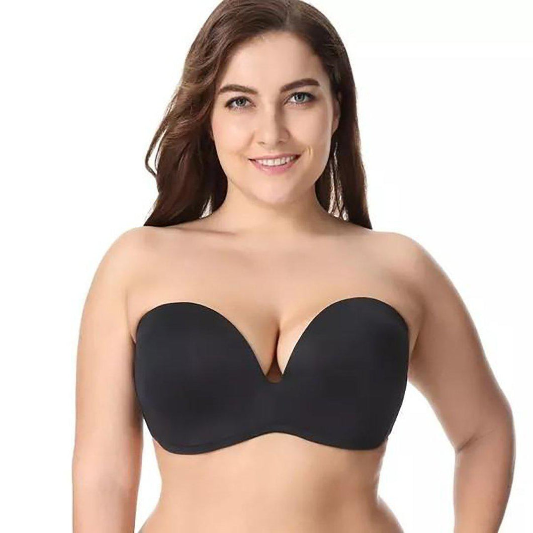 on sale online shop for newest latest trends KYGO™ Invisible Strapless Push UP Bra (SIZE PLUS)