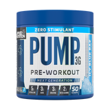 Applied Nutrition Pump Zero Stimulant 3G 375g