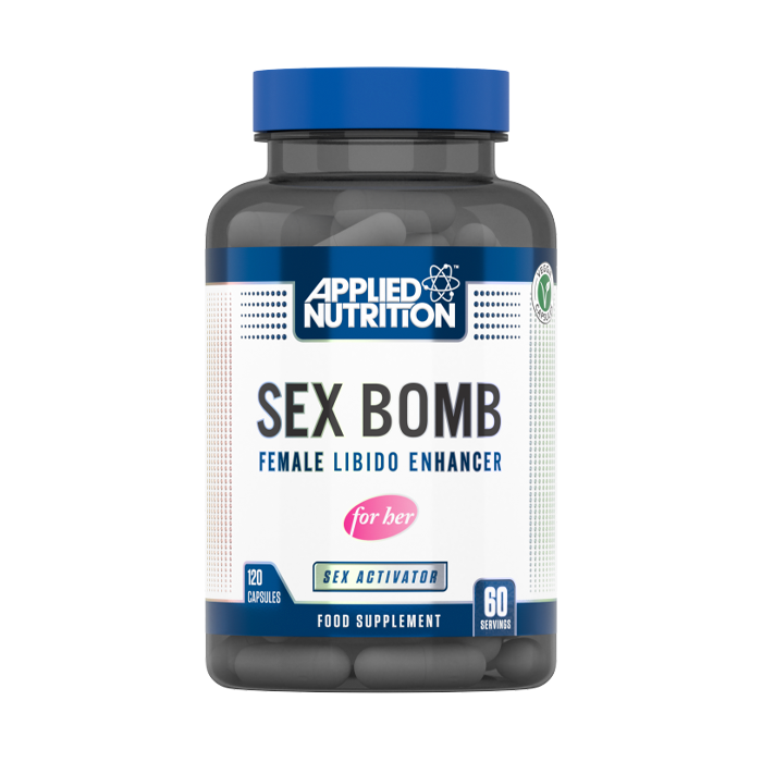Applied Nutrition Sex Bomb For Her - 120 Caps