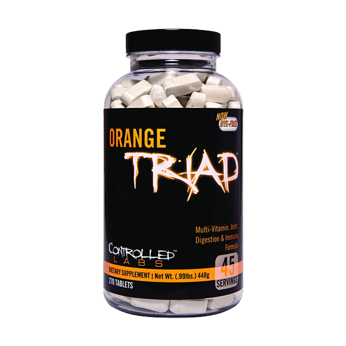 Controlled Labs Orange Tirad - 270 Tablets