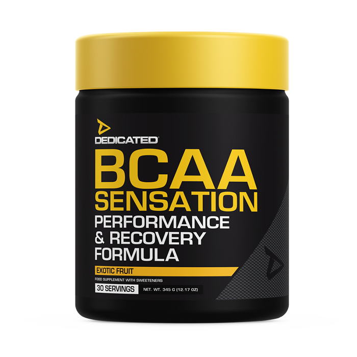 Dedicated Nutrition BCAA Sensation 345g EXP 10/19