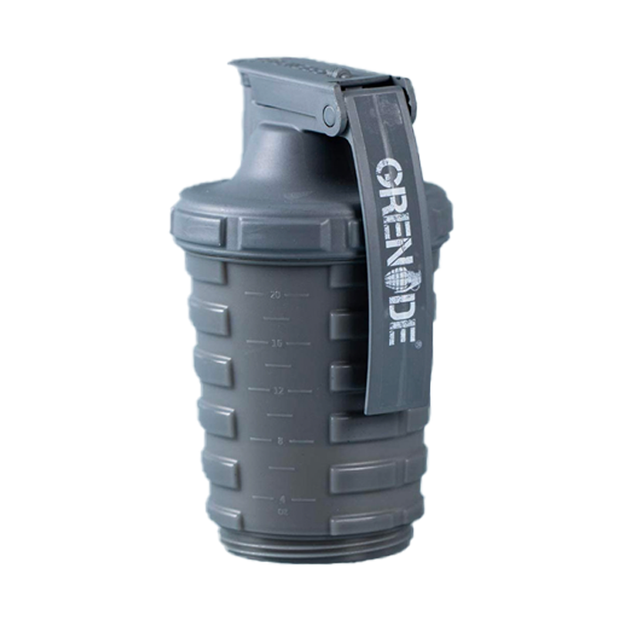 Grenade Shaker Gun Metal Grey 600ml