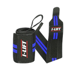 I-Lift Wrist Wraps Blue