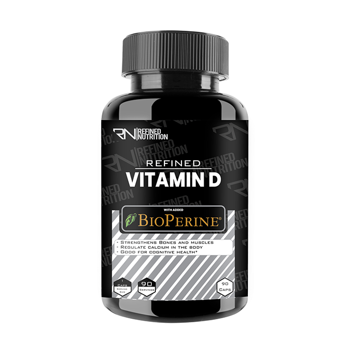 Refined Vitamin D 90 Caps
