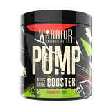 Warrior Pump Nitric Oxide Booster 225g EXP 04/20