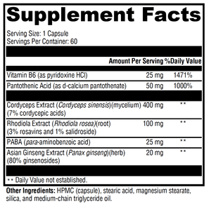 Adrenal Adaptogens