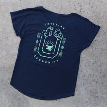 Load image into Gallery viewer, Crafting Community Ladies Tee | Year of Beers x SDBG Collab