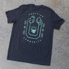 Load image into Gallery viewer, Crafting Community Mens Pocket Tee | Year of Beers x SDBG Collab