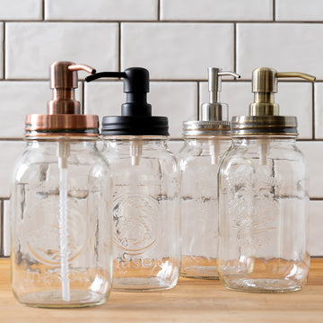Jarmazing Classic Farmhouse Mason jar Pump