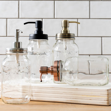 Farmhouse Mason Jar Pump
