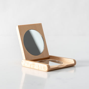 Folding mirror Redecker