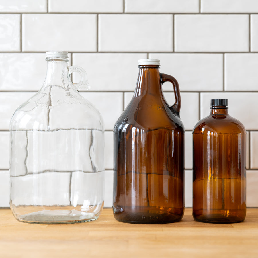 Glass Bottles & Growlers