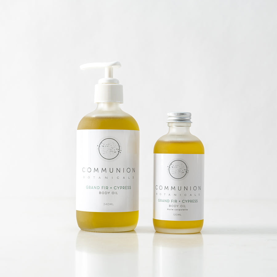 Communion Botanicals  Fir + Cypress body oil