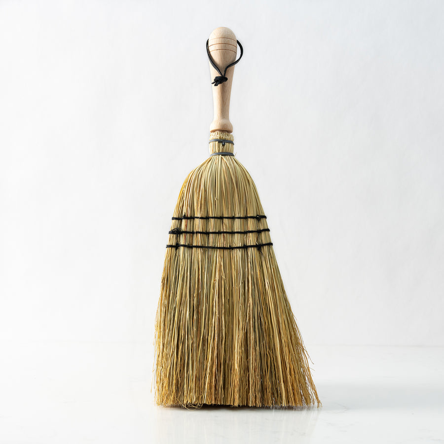 Redecker rice straw hand broom