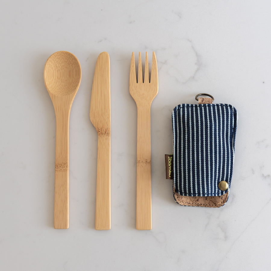 Bambu Travel Cutlery