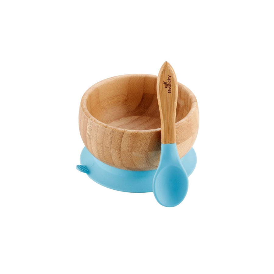 Avanchy Bamboo Suction Baby Bowl (w spoon)