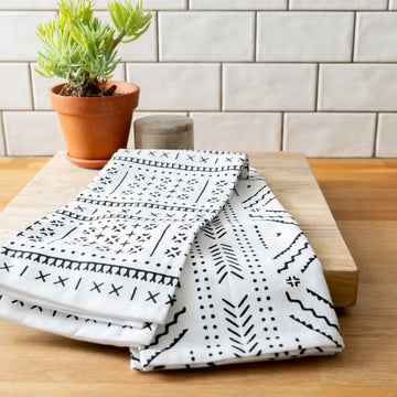 Onyx Cotton Dish Towel