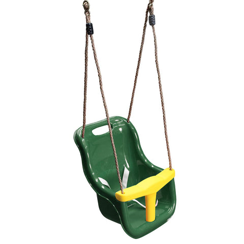 Baby Seat with Rope Extension (Green)