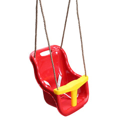 Baby Seat with Rope Extensions (Red)