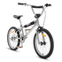 "Classic 20"" Metallic Chrome BMX"