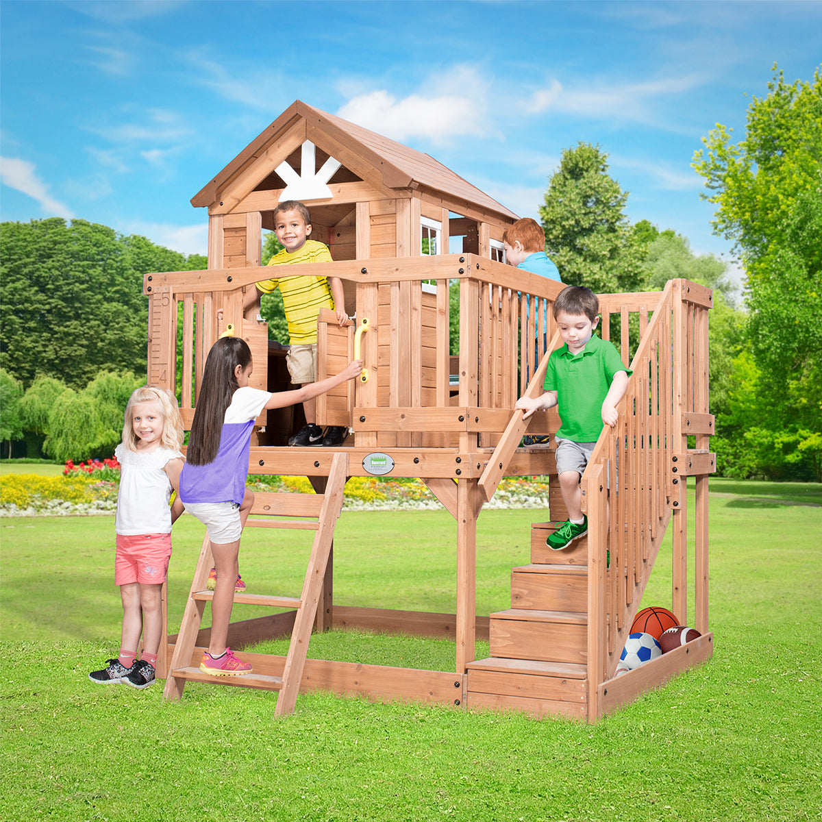 Backyard Discovery Scenic Heights Cubby House image