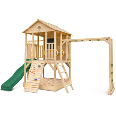 Kingston Cubby House with Green Slide