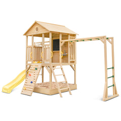 Kingston Cubby House with Yellow Slide