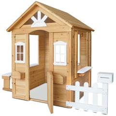 Teddy Cubby House in Natural Timber (V2)