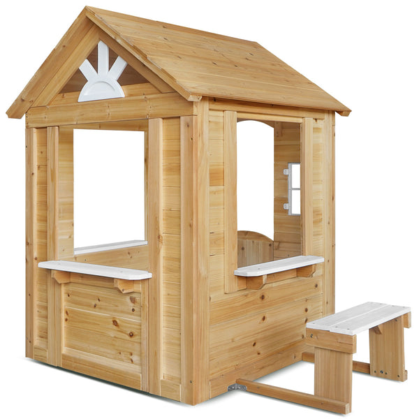 Teddy Cubby House in Natural Timber