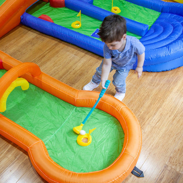 Tee Off Mini Golf Inflatable Play Centre