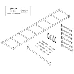 Amazon Monkey Bars Only (2.5m)