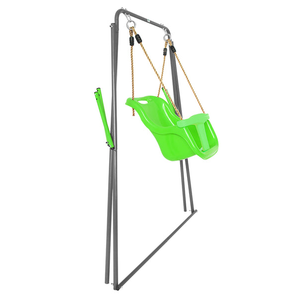 Bobcat Foldable Baby Swing Set