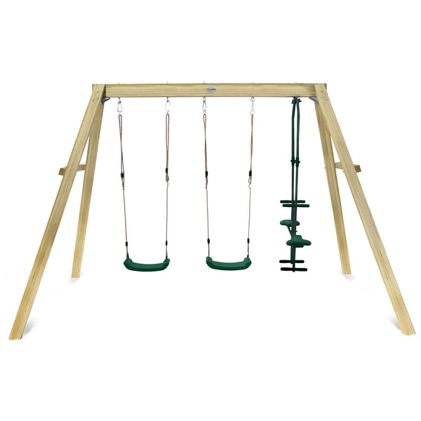Forde 3-Station Timber Swing Set