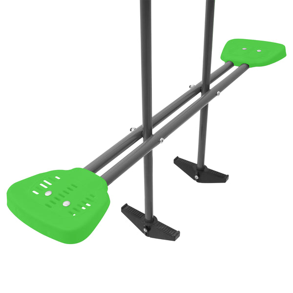 Hurley 2 Metal Swing Set