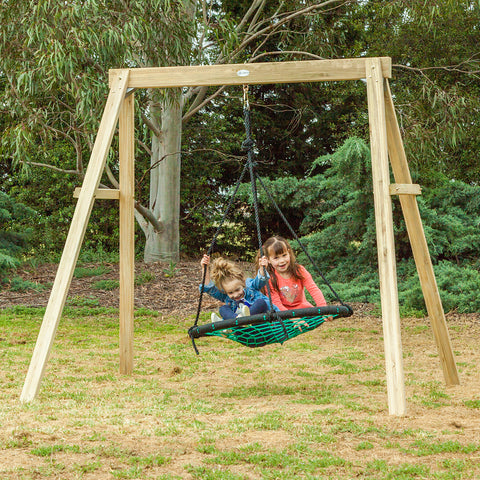 Oakley Swing Set with 1m Spidey Web Swing