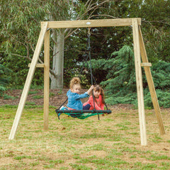 Oakley Swing Set with 1.2m Spidey Web Swing