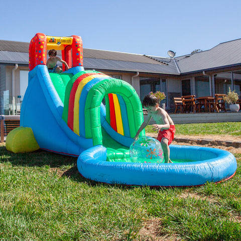 Oasis Slide & Splash Inflatable